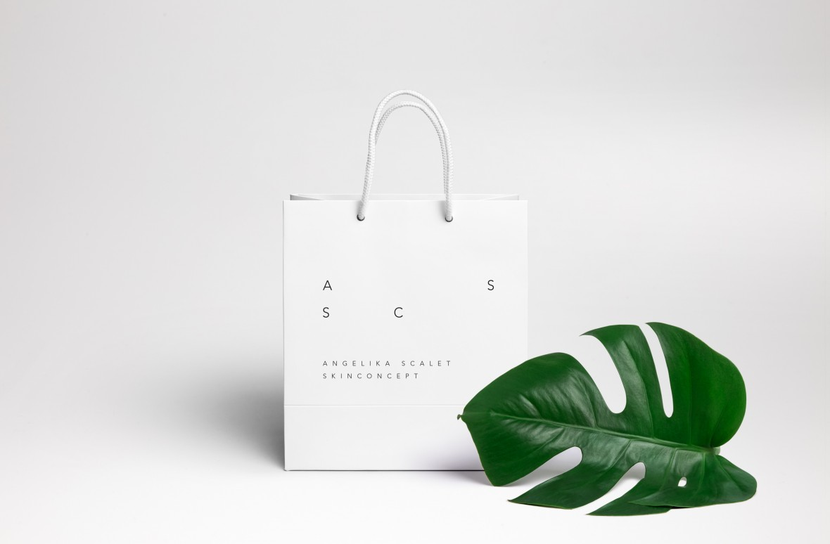 Roswitha Schneider, Angelika Scalet Skinconcept Grafik, Black and White, Corporate Identity, Signage, Businesscard, Design, reduced, Icons, Packaging, Bregenzerwald